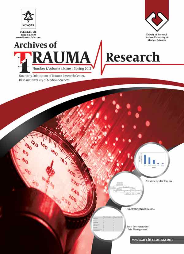 Archives of Trauma research Journal kashan